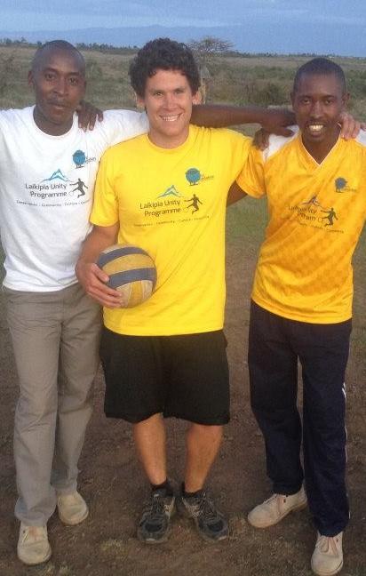 Matt Volunteering in Kenya